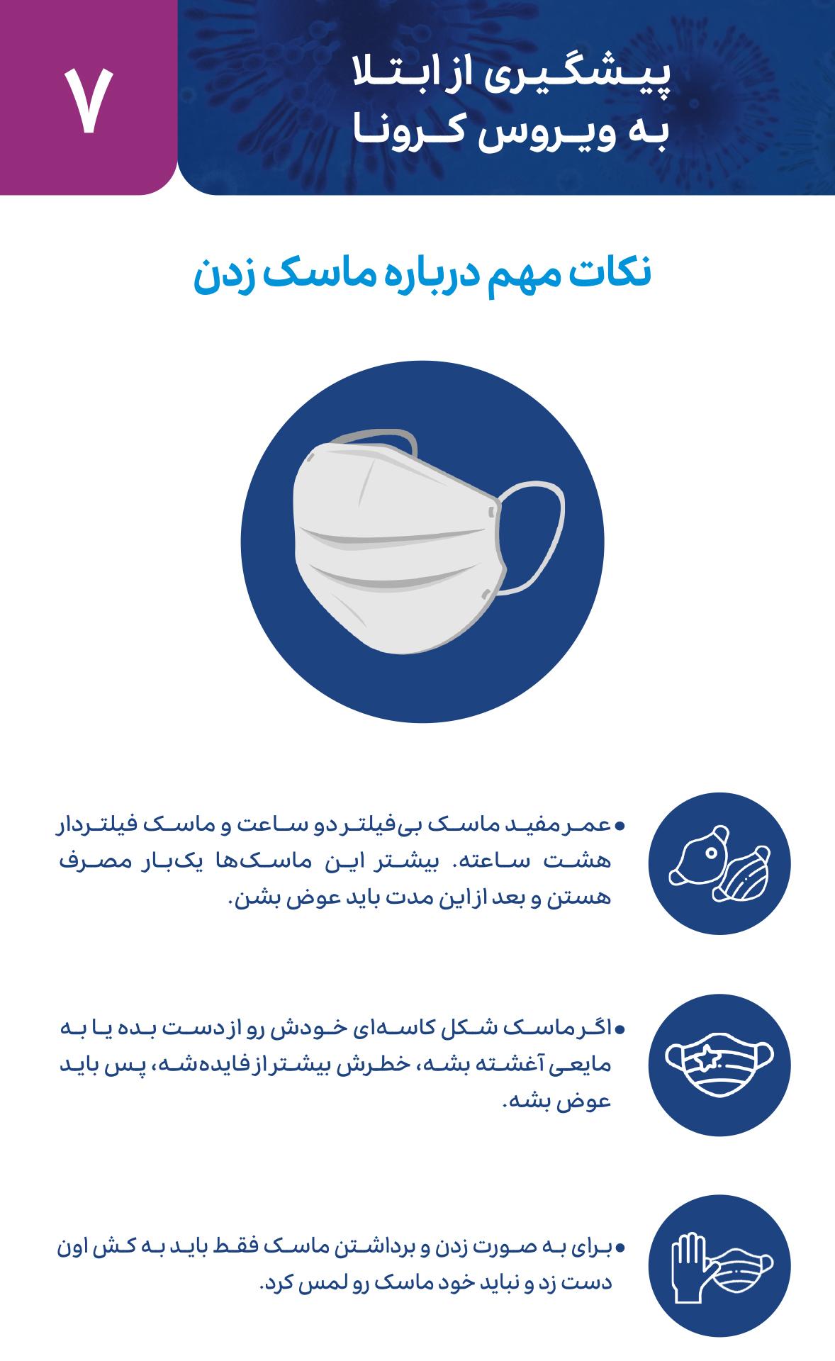 متخصص زنان اصفهان نکات مهم درباره ماسک زدن